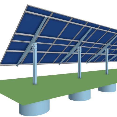 mt solar ground mount drawing